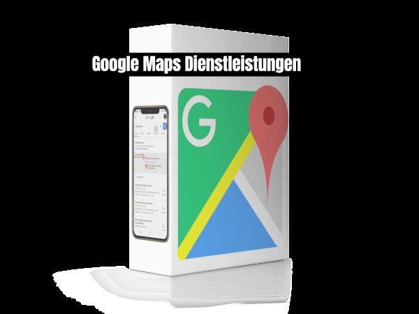 Google Maps Dienstleistungen