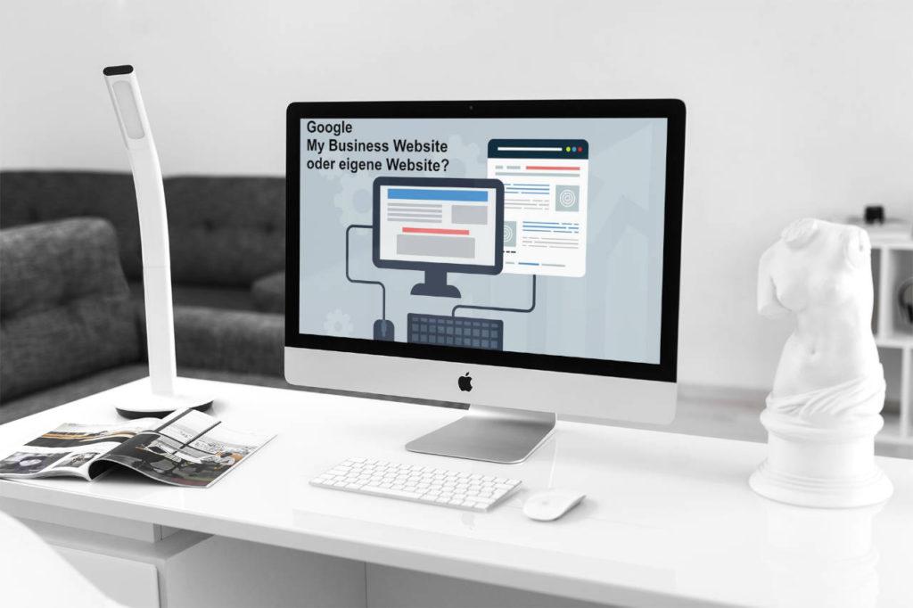 Wir erstellen für Sie einfache Website auf Basis Google My Business Website Builder oder eine individuelle Website/Homepage auf Basis WordPress. Wir beraten Sie gerne.